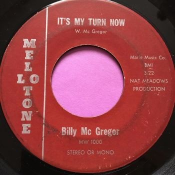 Billy McGregor-It's my turn now-Mellotone E-