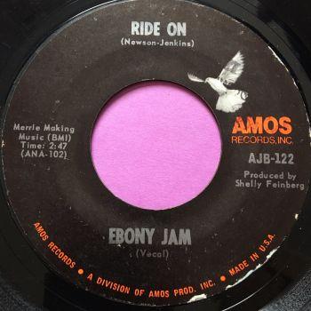 Ebony Jam-Ride on-Amos E