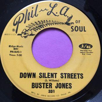 Buster Jones-Down Silent streets-Phila of soul M-