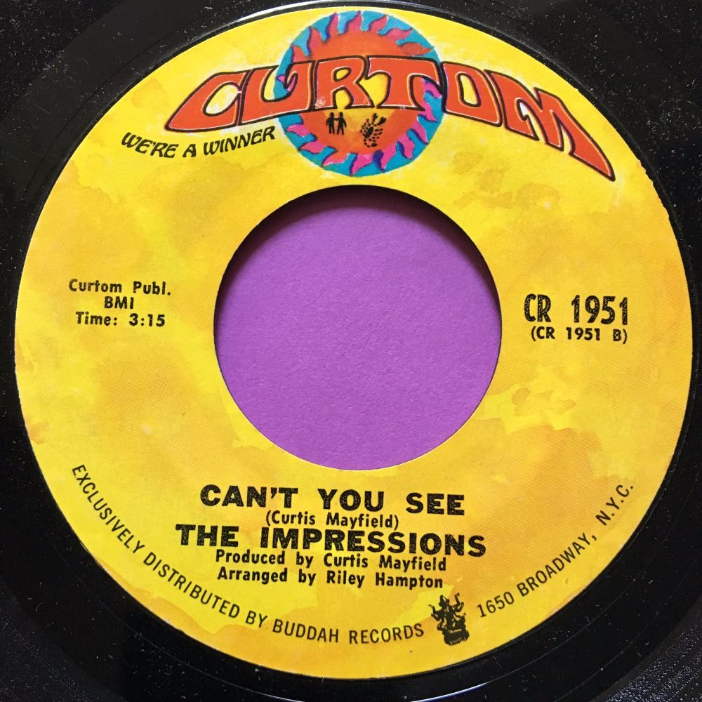 Impressions-Can't you see-Curtom M-