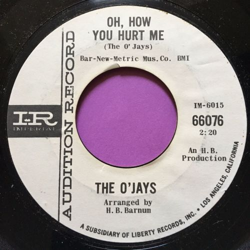 O'Jays-Oh how you hurt me-Imperial WD M-