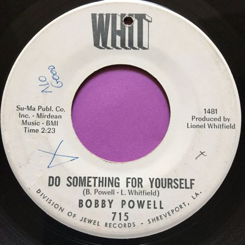 Bobby Powell-Do something for yourself-Whit WD wol E