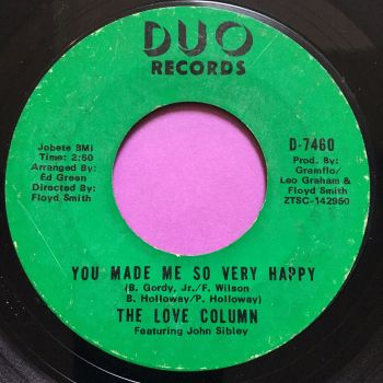 Love Column-You made me so very happy-Duo E-