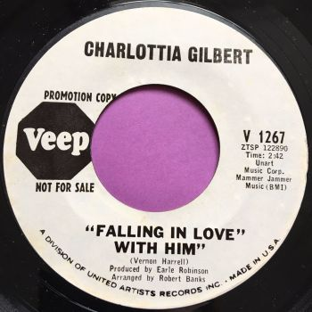 Charlotta Gilbert-Falling in love with him-Veep WD E+