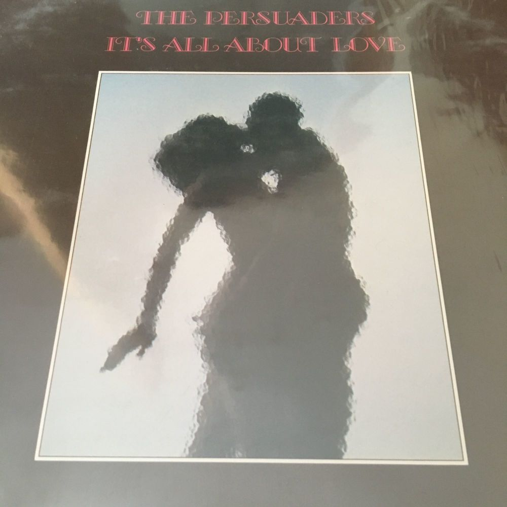 Persuaders-It's all about love-Calla LP E+