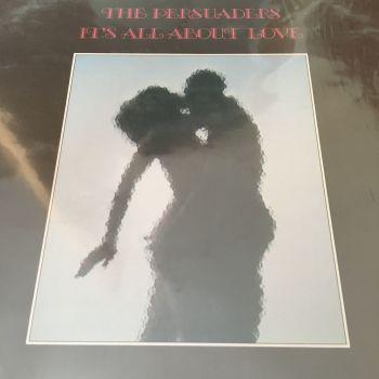 Persuaders-It's all about love-Calla LP E+