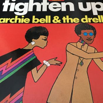 Archie Bell-Tighten up-Atlantic LP E+