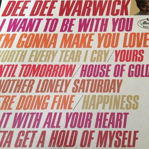 Dee Dee Warwick-Same-Mercury LP E