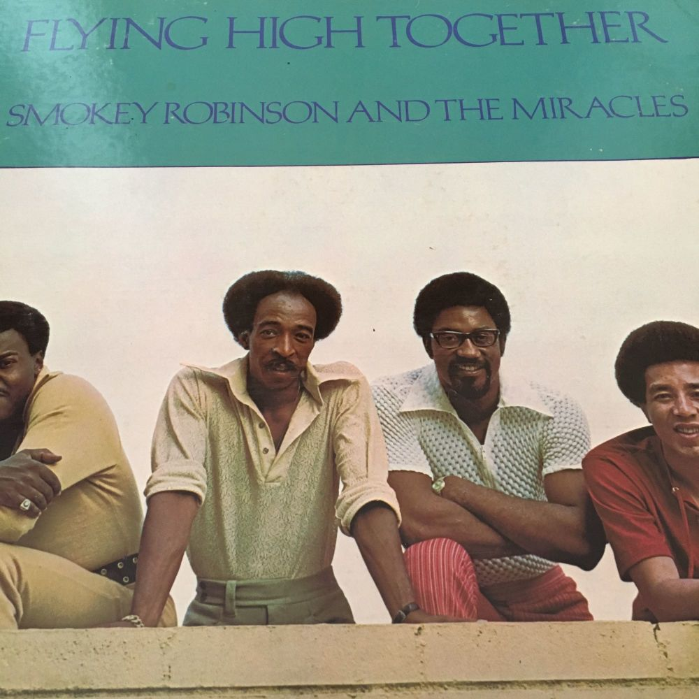 Smokey Robinson-Flying high together-Tamla LP woc E+