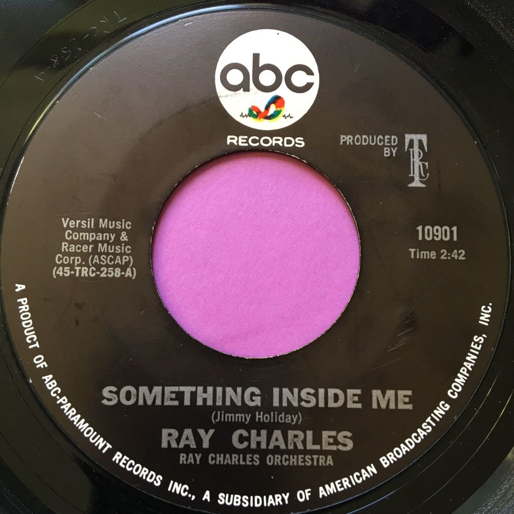 Ray Charles-Something inside me-ABC E+