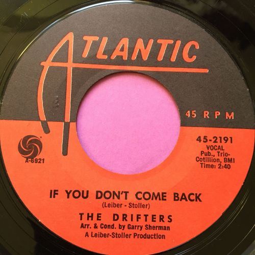 Drifters-If you don't come back-Atlantic E+