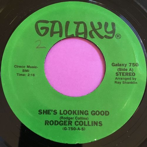 Roger Collins-She's looking good-Galaxy E+