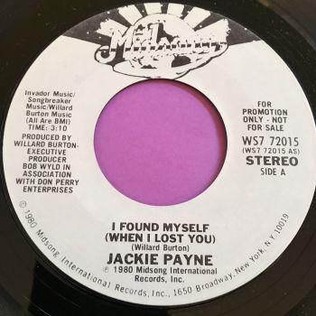 Jackie Payne-I found myself-Midsong WD M-