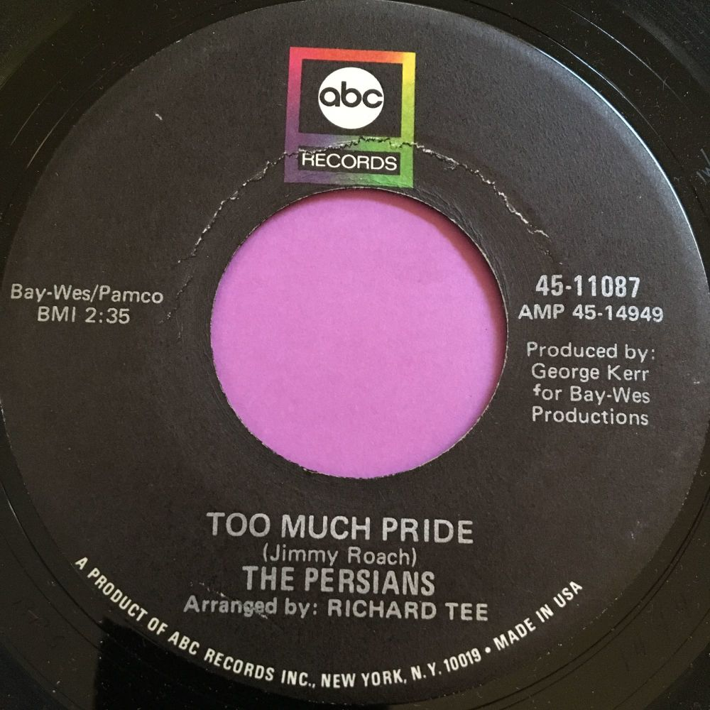 Persians-Too much pride-ABC E+