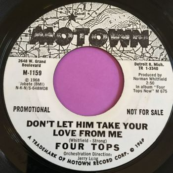 Four Tops-Don't let him take your love for me-Motown WD E+