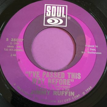 Jimmy Ruffin-I've passed this way before-Soul M-