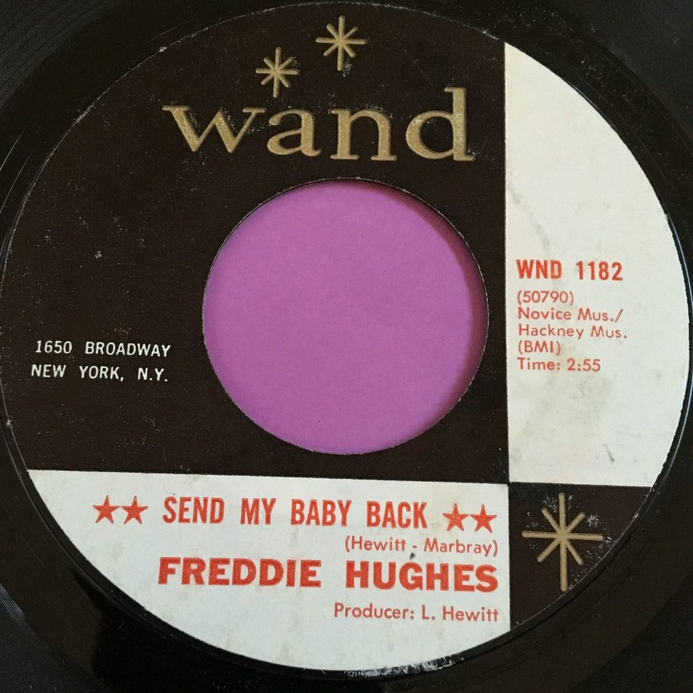 Freddie Hughes-Send my baby back-Wand E