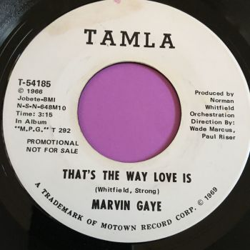 Marvin Gaye-That's the way love is-Tamla WD E