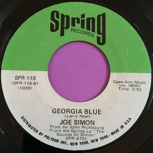 Joe Simon-Georgia Blue-Spring E+