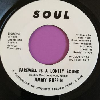 Jimmy Ruffin-Farewell is a lonely sound-Soul WD E+