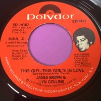 James Brown & Lyn Collins-This guy-This girl's in love with you-Polydor E+