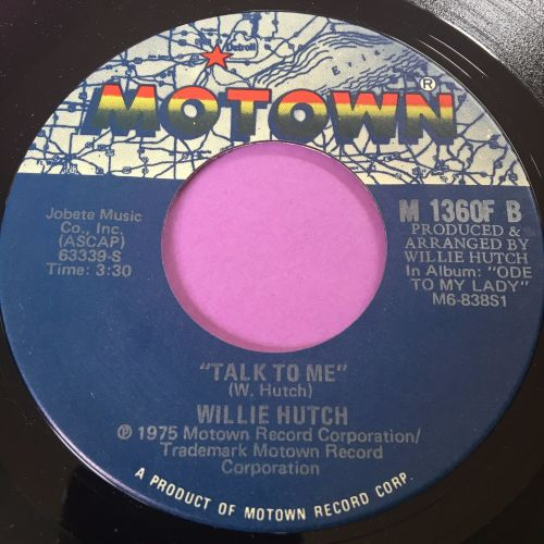 Willie Hutch-Talk to me-Motown E+
