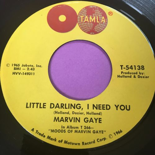Marvin Gaye-Little darling-Tamla E+
