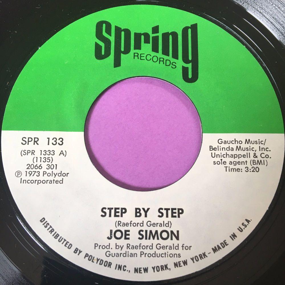 Joe Simon-Step by step-Spring E+