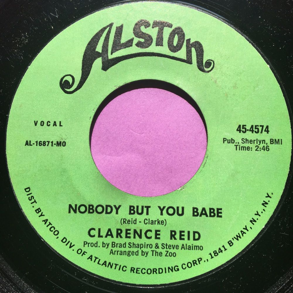 Clarence Reid-Nobody but you babe-Alston E+