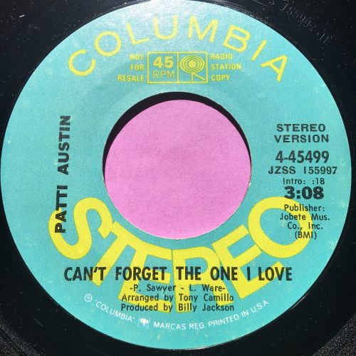 Patti Austin-Can't forget the one I love-Columbia demo E+