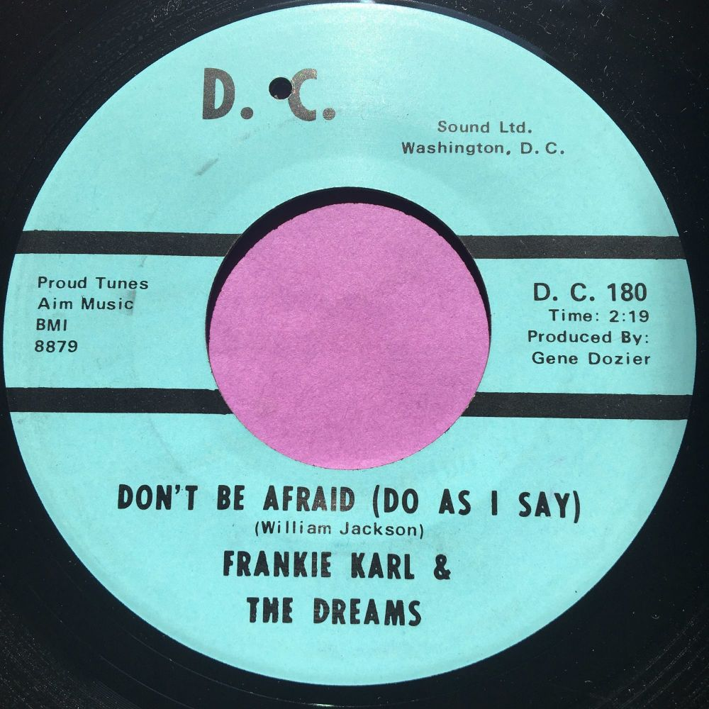 Frankie Karl-Don't be afraid-DC E+
