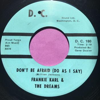 Frankie Karl-Don't be afraid-DC E+