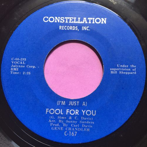 Gene Chandler-Fool for you-Constellation E+