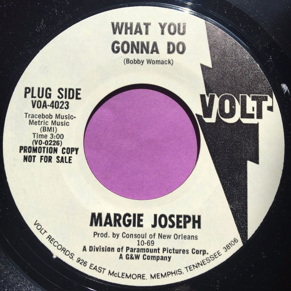 Margie Joseph-What you gonna do-Volt WD E+