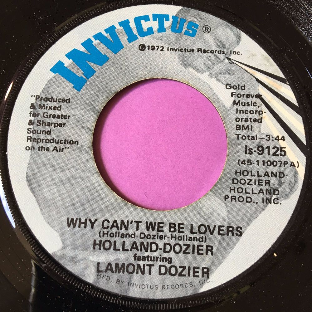 Lamont Dozier-Why can't we be lovers-Invictus E+