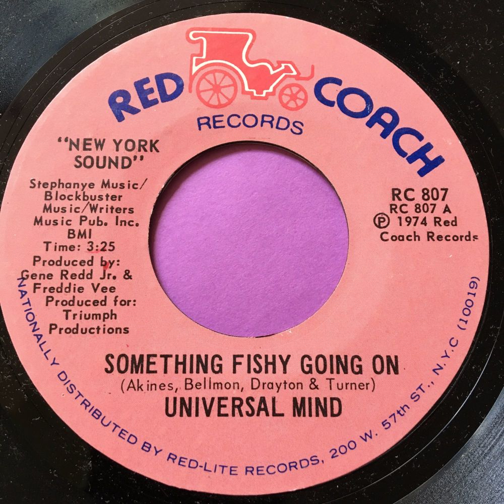 Universal Mind-Something fishy going on-Red coach M-