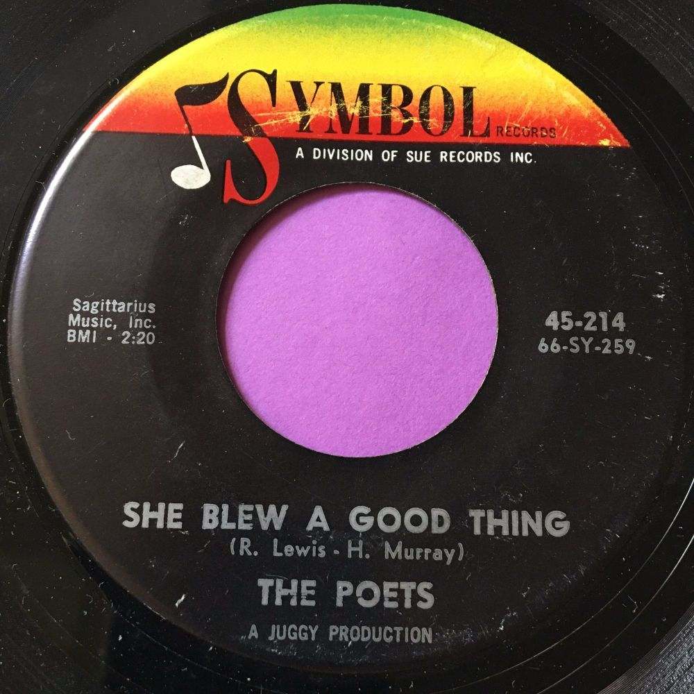 Poets-She blew a good thing-Symbol E+