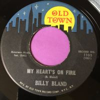 Billy Bland-My heart's on fire-Old town E+