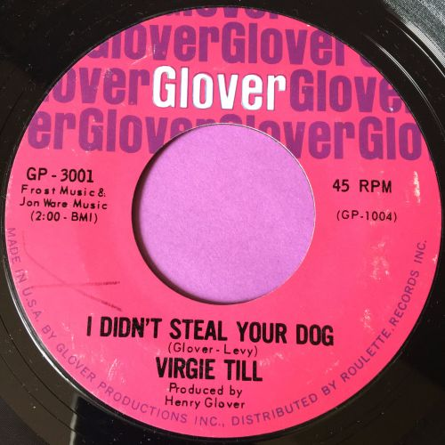 Virgie Till-I didn't steal your dog-Glover X M-