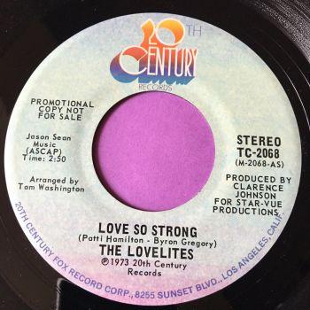 Lovelites-Love so strong-20th Century demo E+
