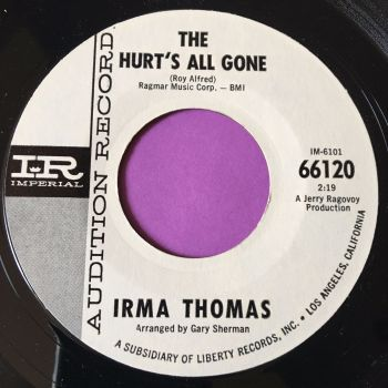 Irma Thomas-The hurt's all gone-Imperial WD M-