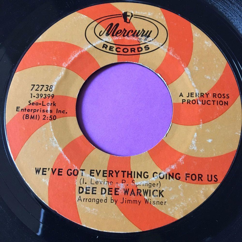 Dee Dee Warwick-We've got everything going for us-Mercury E