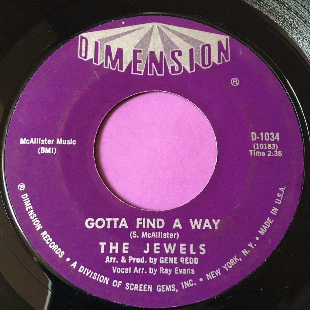 Jewels-Gotta find a way-Dimension M-