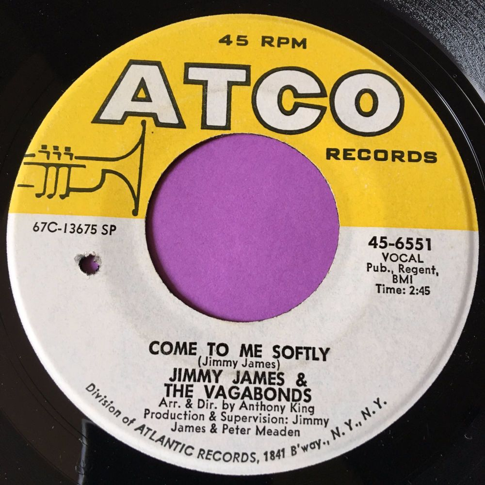 Jimmy James-Come to me softly-Atco M-