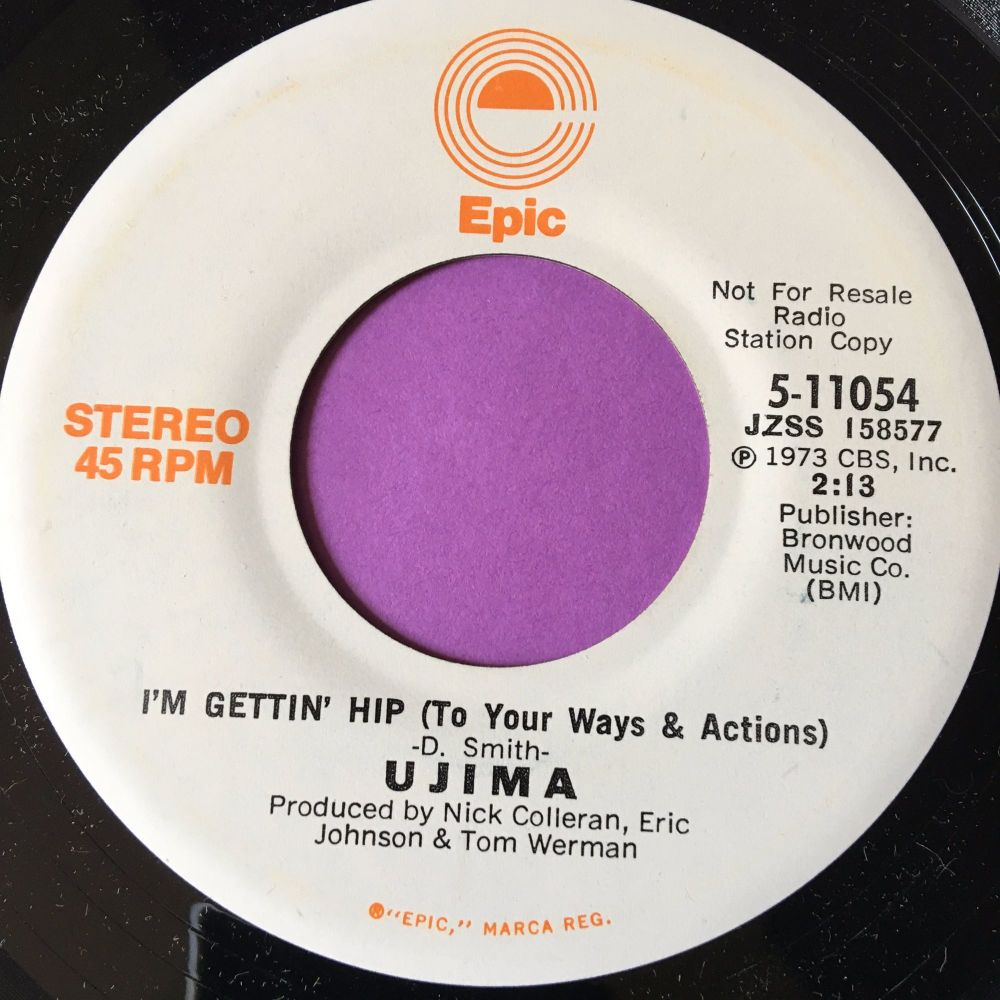 Ujima-I'm gettin' hip-Epic WD M-