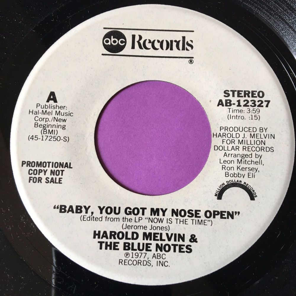 Harold Melvin-Baby you got my nose open-ABC WD M-