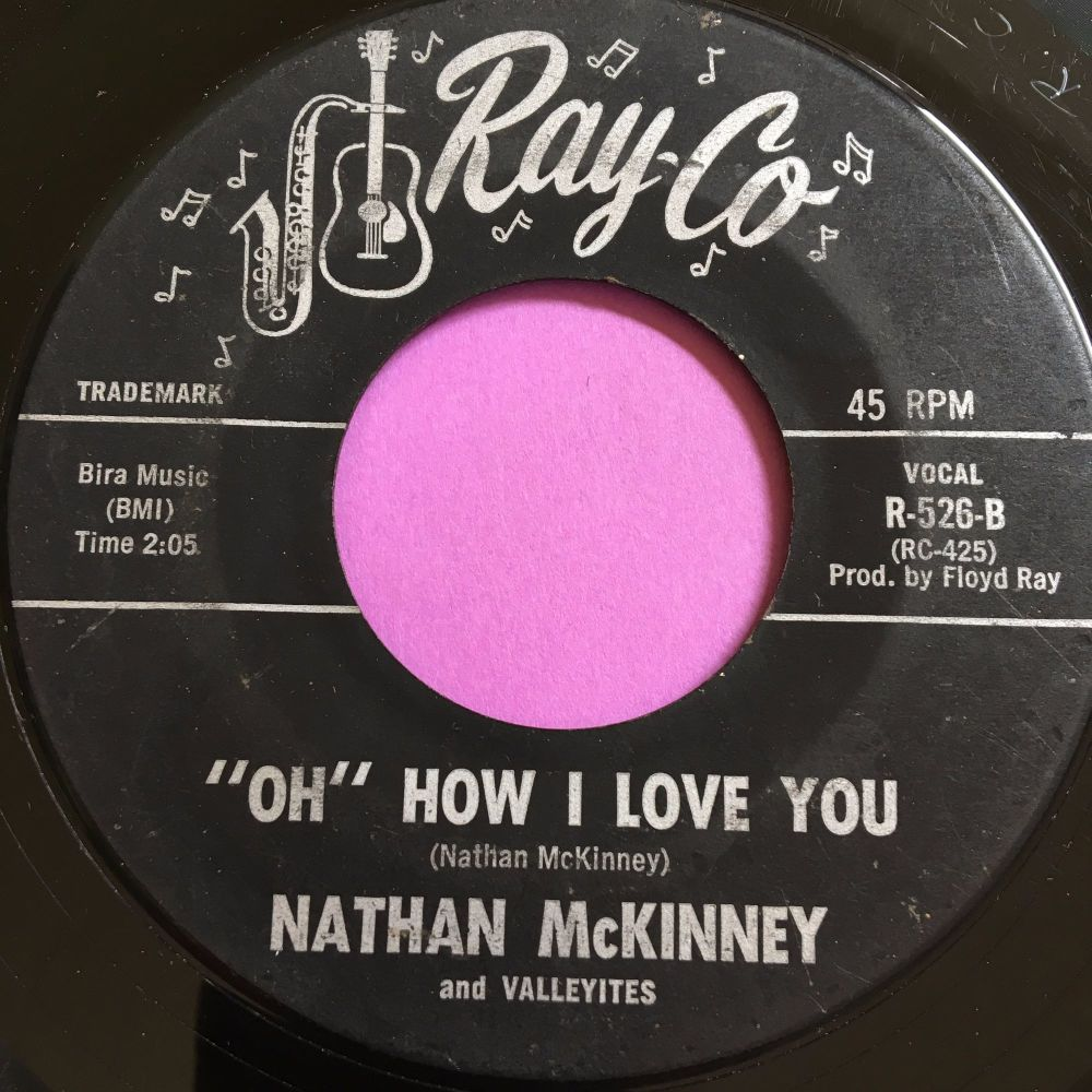 Nathan McKinney-Oh how I love you-Ray co G