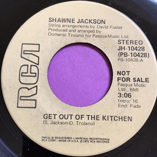 Shawne Jackson-Get out of the kitchen-RCA demo M-