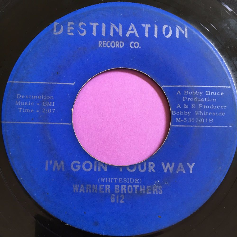 Warner Brothers-I'm goin' your way-Destination E-
