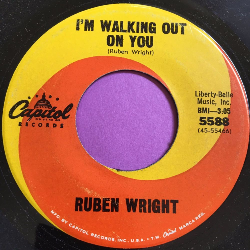 Ruben Wright-I'm walking out on you-Capitol E+